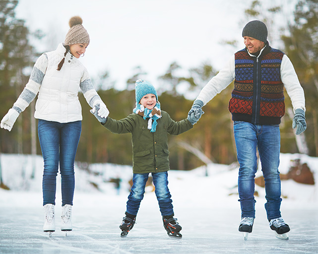 Winter Inspired Activities in Kleinburg