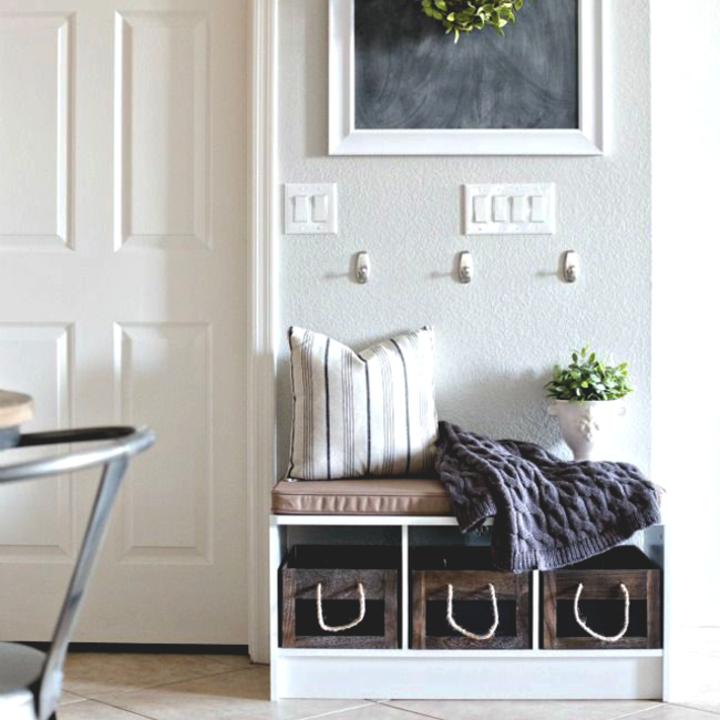 make your front hall stylish