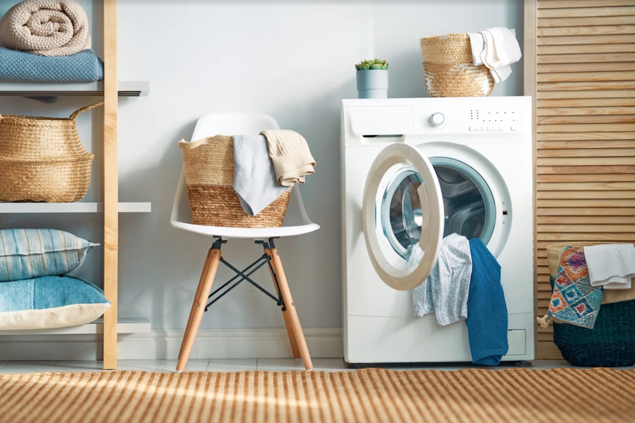 stunning and functional laundry room